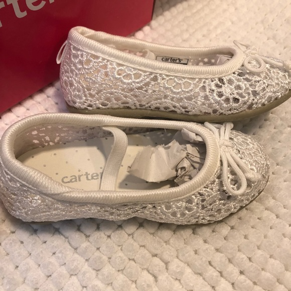 d1ec433b2508 Carter's Shoes | Carters Ruby White Lace Toddler Sz 5 Nwt | Poshmark